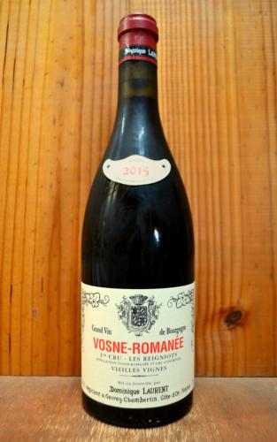 ヴォーヌ ロマネ プルミエ クリュ 一級 レ レニョー ヴィエイユ ヴィーニュ 2015 ドミニク ローラン 正規 赤ワイン ワイン 辛口 フルボディ 750mlVosne Romanee 1er Cru Les Reignots Vieille Vignes [2015] Dominique Laurent