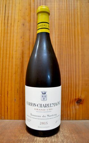 コルトン シャルルマーニュ グラン クリュ 特級 2015 ボノー デュ マルトレ 正規 白ワイン ワイン 辛口 750mlCorton Charlemagne Grand Cru [2015] Domaine Bonneau du Martray AOC Corton Charlemagne Grand Cru