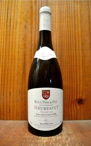ムルソー プルミエ クリュ 一級 グット ドール 2013 ルー ペール エ フィス 正規 白ワイン ワイン 辛口 750mlMeursault 1er Cru Goutte d'Or [2013] Roux Pere & Fils AOC Meursault 1er Cru