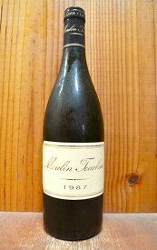 コトー デュ レイヨン ムーラン トゥーシェ レゼルヴ 1987 ドメーヌ トゥーシェ 白ワイン ワイン 極甘口 750ml (コトー デュ レイヨン)Coteaux du Layon Moulin Touchais 1987 Domaine Moulin Touchais AOC Coteaux du Layon