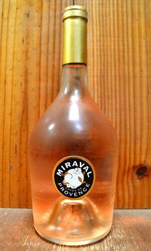 ミラヴァル ロゼ 2017 (ブラッド ピット&アンジェリーナ ジョリーのスーパースターロゼワイン) 正規 ロゼワイン ワイン 辛口 750ml (ミラヴァル・ロゼ)MIRAVAL Rose [2017] AOC Cotes de Provence Protegee