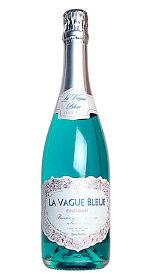ラ ヴァーグ ブルー 青色 スパークリングワイン キュヴェ スイート (エルヴェ ケルラン) スパークリング 泡 青 ワイン 甘口 750mlLA VAGUE BLEUD Sparkling Wine (Blue) Cuvee Sweet Herve Kerlann