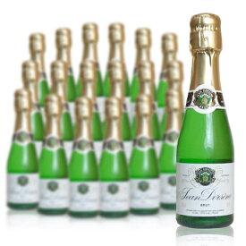 【24本(1ケース)ご購入で送料無料】ジャン ドルセーヌ ブリュット ヴァン ムスー スパークリングワイン ミニ (ソレヴィ社) 正規品 泡 白 スパークリングワイン ワイン 辛口 200mlJean Dorsene Vin Mousseux Brut Sparkling Wine Mini (Sorevi)
