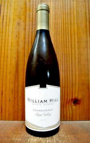 ウィリアム ヒル シャルドネ ナパ ヴァレー 2015 ウィリアム ヒル エステート ワイナリー 正規品 白ワイン ワイン 辛口 750mlWilliam Hill Chardonnay Napa Valley [2015] William Hill Estate Winery