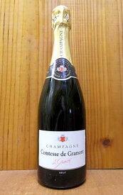コンテス ド グラモン シャンパーニュ ブリュット AOCシャンパーニュ モンターニュ ド ランスのシニー レ ローズ本拠地 高級泡 シャンパン 白 辛口 750ml ワイン 白ワインComtesse de Gramont Champagne Brut
