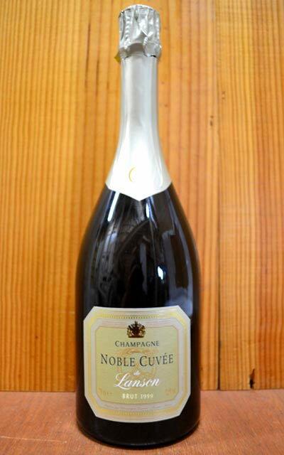 【6本以上ご購入で送料・代引無料】ランソン ノーブル キュヴェ ブリュット ミレジム 1999 直輸入品 泡 白 シャンパーニュ シャンパン ワイン 辛口 750mlLanson Champagne Noble Cuvee Millesime Brut [1999] AOC Millesime Champagne