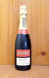 パイパー エドシック エッセンシエル キュヴェ ブリュット(エクストラ ブリュット) パイパー エドシック社 AOCシャンパーニュ 正規品 新ラベル ハーフサイズ 泡 白 シャンパン ワイン 辛口 375mlPiper Heidsieck Essentiel Cuvee Brut AOC Champagne Half Size