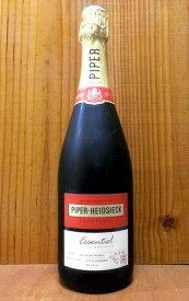 【6本以上ご購入で送料・代引無料】パイパー エドシック エッセンシエル キュヴェ ブリュット ハイパー エドシック社 正規 ギフト 白 泡 ワイン シャンパン シャンパーニュPiper Heidsieck Essentiel Cuvee Brut 750ml