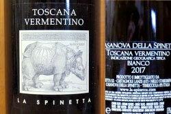 ラ スピネッタ カサノーヴァ ヴェルメンティーノ トスカーナ 2017 IGTトスカーナ (ヴェルメンティーノ100%) 白ワイン 辛口 750mlLa Spinetta Casanova Vermentino Toscana [2017]