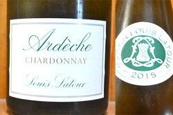 【12本ご購入で送料・代引無料】ルイ ラトゥール アルデッシュ シャルドネ 2015 ルイ ラトゥール社 フランス ローヌ IGTアルデッシュ 正規 白ワイン 辛口 750mlLouis Latour Ardeche Chardonnay [2015] Louis Latour (IGT Ardeche)