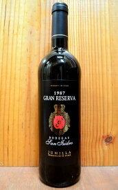 ボデガス サン イシドロ グラン レセルバ 1987 ヌーヴェルセレクション 赤ワイン 辛口 フルボディ 750mlBodegas San Isidro Gran Reserva [1987] D.O Jumilla
