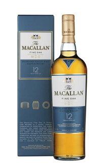 麥高倫·很好橡樹[12]年、三倍·kasuku 700ml、正規代理店進口商品、官方瓶·高原·單人·麥芽·威士忌硬體酒精飲料THE MACALLAN FINE OAK TRIPLE CASK 700ml 40%HIGHLAND SINGLE MALT WHISKY
