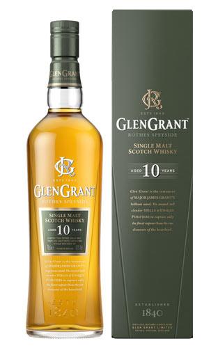 【箱入 正規品】グレン グラント 10年 シングル モルト スコッチ ウイスキー 正規品 700ml 40% ハードリカー (グレングラント) (グレン・グラント)