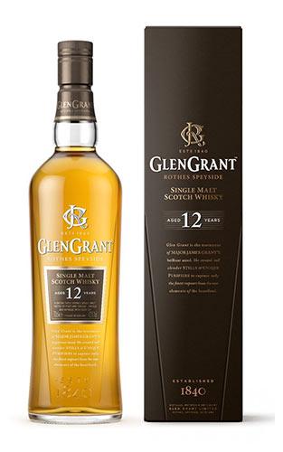 【箱入 正規品】グレン グラント 12年 シングル モルト スコッチ ウイスキー 正規 700ml 43% ハードリカー (グレングラント) (グレン・グラント)GLEN GRANT AGED 12 YEAR SINGLE MALT SCOTCH WHISKY 700ml 43%