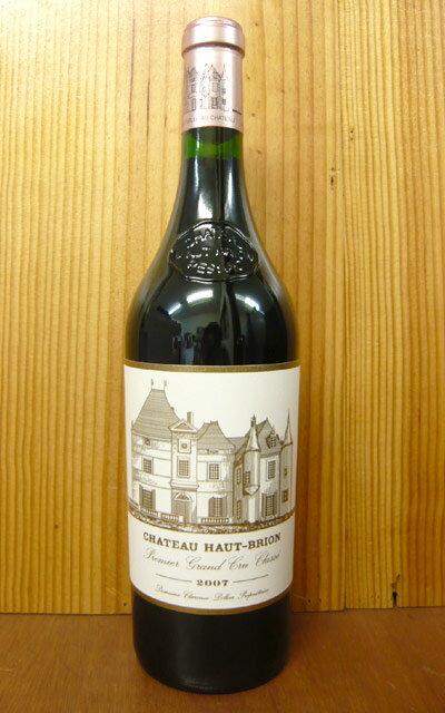 シャトー オーブリオン 2007 プルミエ グラン クリュ クラッセ 格付第一級 (クリュ クラッセ ド グラーヴ第一級格付) AOCペサック レオニャン フランス ボルドー 赤ワイン 辛口 フルボディ 750ml (シャトー・オーブリオン)