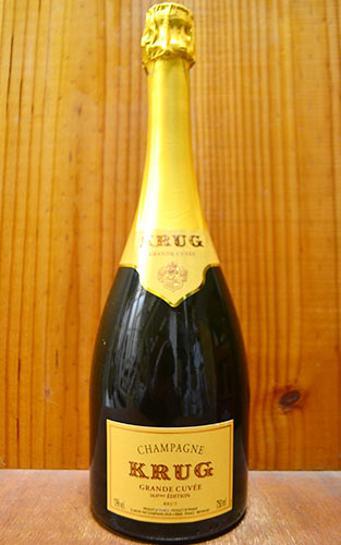 クリュッグ シャンパーニュ グラン キュヴェ ブリュット (エディション163) 正規 泡 白 シャンパン ワイン 辛口 750mlKRUG Champagne Grande Cuvee Brut AOC Champagne