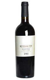 リヴザルト 1986 究極限定秘蔵古酒 リヴェイラック元詰 AOCリヴザルト ヴァン ド ナチュレ 赤ワイン 甘口 750ml ワインアドヴォケイト誌90点の高得点獲得 35周年記念用ワインRIVESALTES 1986 Riveyrac AOC RIVESALTES WA・90