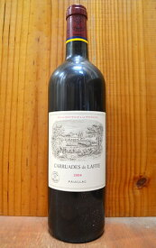 カリュアド ド ラフィット 2004 シャトー ラフィット ロートシルト メドック プルミエ グラン クリュ クラッセ 格付第一級 セカンド ラベル ボトルにロットナンバー入り フランス 辛口 フルボディ 750mlCARRUADES de LAFITE 2004 Chateau Lafite-Rothschild