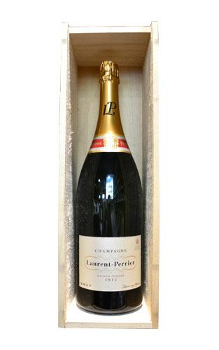 【豪華木箱入】ローラン ペリエ シャンパーニュ ブリュット L.P ジェロボーム 3000ml ダブルマグナムサイズ 正規 フランス AOCシャンパーニュ 白 辛口 泡 シャンパン 豪華木箱入mpagne Brut LP AOC Champagne (Jeroboam 3000ml Bottle) (W・M・G)