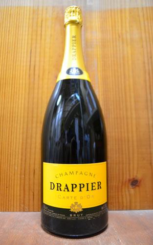 【大型ボトル】ドラピエ シャンパーニュ カルト ドール ブリュット マグナムサイズ 正規 1500ml AOC シャンパーニュ 泡 白 辛口 シャンパン (カルト・ドール・ブリュット)DRAPPIER Champagne Carte D'or Brut AOC Champagne 1,500ml M.G size