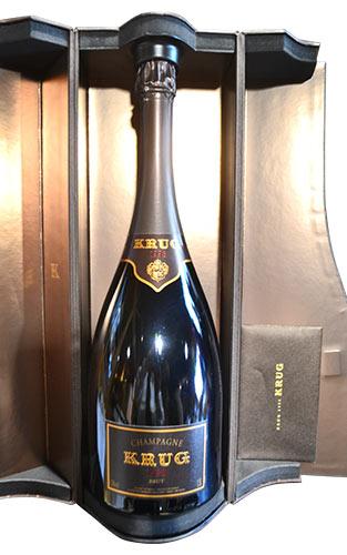 クリュッグ ブリュット ミレジム 白 泡 1998 箱付 マグナム 1500ml シャンパン シャンパーニュ