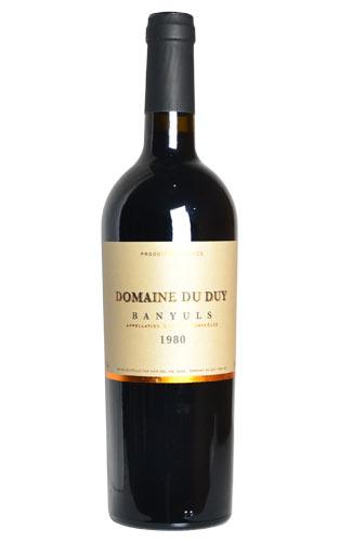 バニュルス 1980 ドメーヌ ド デュイ フランス コトー デュ ラングドック AOCバニュルス 赤ワイン 甘口 フルボディ 750mlBanyuls [1980] Domaine du Duy AOC Banyuls