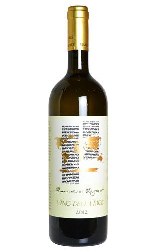 ヴィノ デラ パーチェ 2012 カンティーナ プロドュトリ コルモンス元詰 (エチケット エミリホ イスロ氏) 重厚ボトル イタリア 白ワイン ワイン 辛口 750ml (ヴィノ・デラ・パーチェ)