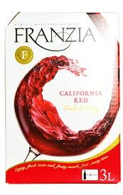 【大容量3L】フランジア カリフォルニア 赤 レッド 3,000ml バッグ イン ボックス(ザ ワイン グループ) カリフォルニア ワイン ワインタップ 3,000mlFRANZIA California Red Wine Bag in Box 3,000ml(25〜28 Glasses)
