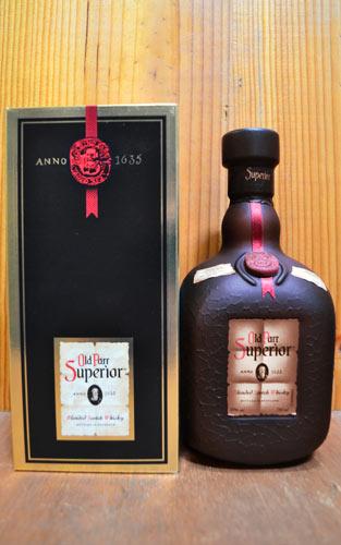 【箱入】オールド・パー・スーペリア・ブレンデッド・スコッチ・ウイスキー・750ml・43% ハードリカーOld Parr Superior 750ml 43% Gift Box