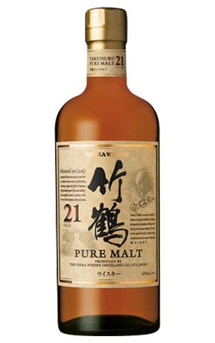 【お一人様1本限り】【正規品】竹鶴[21]年もの・ピュアモルト・ニッカウイスキー・ジャパニーズ・ウイスキー・正規品・700ml・43%