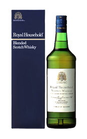 【正規品 箱入】ロイヤルハウスホールド ブレンデッド スコッチ ウイスキー 正規代理店輸入品 ジェームズ ブキャナン社 750ml 43%ROYAL HOUSE HOLD BLENDED SCOTCH WHISKY JAMES BUCHANAN 750ml 43%
