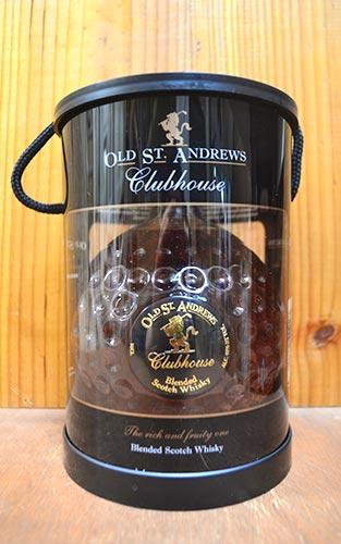 【箱入】オールド・セント・アンドリュース・クラブハウス・ブレンデッド・スコッチ・ウイスキー・正規代理店輸入品・700ml・40%OLD ST ANDREWS CLUB HOUSE BLENDED SCOTCH WHISKY 700ml 40%