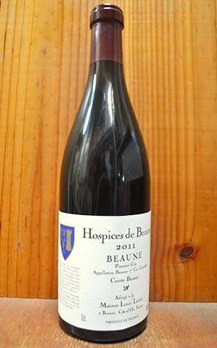 【3本以上ご購入で送料・代引無料】オスピス ド ボーヌ ボーヌ プルミエ クリュ 一級 キュヴェ ブリュネ 2011 エルヴァージュ ルイ ラトゥール社 赤ワイン 辛口 フルボディ 750mlHospices de Beaune Beaune 1er Cru Cuvee Brunet [2011] Maison Louis Latour