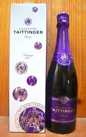【箱付】テタンジェ シャンパーニュ ノクターン セック AOC シャンパーニュ ギフト箱入 正規 フランス 白 泡 やや甘口 シャンパン 750mlTAITTINGER Champagne Nocturne Sec AOC Champagne Gift Box