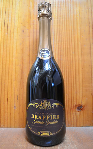 【2本以上ご購入で送料・代引無料】ドラピエ グラン サンドレ ブリュット ミレジム 2008 ドラピエ社 正規 泡 白 辛口 シャンパン シャンパーニュ 750mlDrappier Champagne Grande Sendree Brut Millesime [2008] AOC Millesime Champagne
