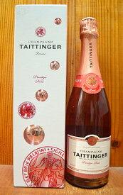【箱付】テタンジェ プレステージ ロゼ シャンパーニュ テタンジェ社 AOCシャンパーニュ ロゼ 正規 専用ギフト箱入 泡 ロゼ 辛口 シャンパン 750mlTAITTINGER Prestige Rose Champagne AOC Rose Champagne