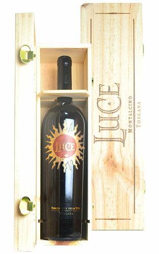 大型サイズ ルーチェ 2008 マグナムサイズ ルーチェ デッラ ヴィーテ 正規 豪華木箱入 箱付 赤ワイン 辛口 フルボディ 1500mlLUCE [2008] M.G Luce della Vite IGT Toscana