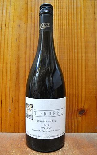 トルブレック G.M.S オールド ヴァインズ 2014 トルブレック ヴィントナーズ (デイヴィッド パウエル) バロッサ ヴァレー 正規 赤ワイン 辛口 フルボディ 750ml オーストラリアTORBRECK Old Vines Grenache Shiraz Mourvedre [2014]