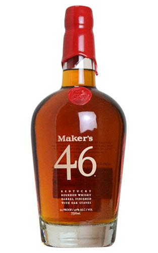 メーカーズマーク 46 ケンタッキー バーボン ウイスキー 750ml 47% ハードリカーMaker's Mark 46 Kentucky Bourbon Whisky 750ml 47%