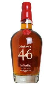 【正規品】メーカーズマーク 46 ケンタッキー バーボン ウイスキー 750ml 47% ハードリカーMaker's Mark 46 Kentucky Bourbon Whisky 750ml 47%【wineuki_MMF】 wisky_mkm