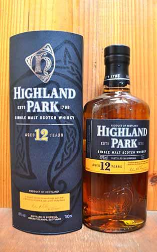 【箱入・正規品】ハイランドパーク[12]年・シングル・モルト・スコッチ・ウイスキー・オフィシャル・Michael・Jackson(ウイスキー評論家・マイケル・ジャクソン氏) 箱付 (箱入) ギフトHIGHLAND PARK AGED [12] YEARS SINGLE MALT SCOTCH WHISKY 700ml 40%