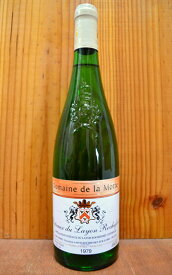 コトー デュ レイヨン ロックフォール ドゥミ セック 1979 ドメーヌ ド ラ モット フランス ロワール 白ワイン ワイン やや甘口 750mlCoteaux du Layon Rochefort Demi Sec [1979]