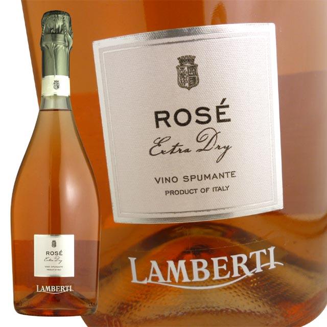 ランベルティ・ロゼ・ヴィーノ・スプマンテ・エキストラ・ドライ・超限定品(泡・辛口・ロゼ)ランベルティ家LAMBERTI Rose Vino Spumante Exstra Dry