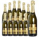 【送料無料・12本セット】シャンドン ブリュット 白 泡 N.V 正規 箱なし 750ml×12 シャンパン シャンパーニュ モエ …
