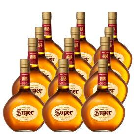【送料無料/12本セット】スーパーニッカ 正規品 700ml×12本 ケース [12本入り] ブレンデッド ウイスキー ニッカウイスキー 700ml 43%