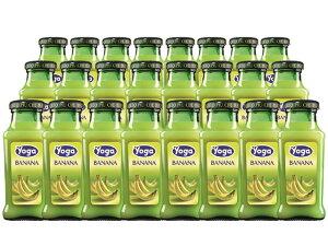 ヨーガ スッコ・ディ・バナナ 200ml×24本 (イタリア フルーツジュース) ヨーガ各種2ケースまで同梱可能、その他商品とは同梱不可