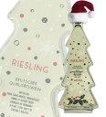 クリスマス・ツリー型・ボトル・モーゼル・リースリング(白)・Q.b.A[2018]年・かわいいクリスマスツリー型ボトル入り…