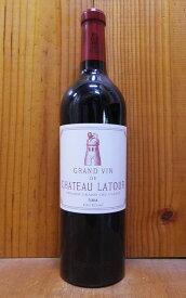 シャトー ラトゥール 2004 メドック プルミエ グラン クリュ クラッセ 公式格付第一級 フランス ボルドー メドック AOCポイヤック 赤ワイン ワイン 辛口 フルボディ 750mlChateau Latour [2004] Premiers Grand Cru Classes du Medoc en 1855 AOC Pauillac