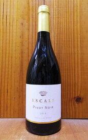 エスカル ピノ ノワール 2018年 ピノ ノワール100% 一部フレンチオーク樽で6ヵ月熟成 エスカル社 ラングドック ルーション フランスESCALE Pinot Noir 2018