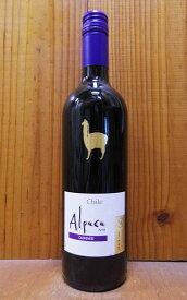 サンタ ヘレナ アルパカ カルメネール 2019 D.O セントラル ヴァレー 赤ワイン 辛口 ミディアムボディ 750mlSanta Helena Alpaca Carmenere [2019] chile(Valley-Central)